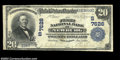 National Bank Notes:West Virginia, Newburg, WV - $20 1902 Plain Back Fr. 650 The First NB ...