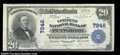 National Bank Notes:West Virginia, Pennsboro, WV - $20 1902 Plain Back Fr. 650 The Citizens ...