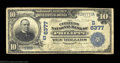 National Bank Notes:West Virginia, Philippi, WV - $10 1902 Date Back Fr. 616 The Citizens ...