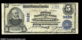 National Bank Notes:West Virginia, Piedmont, WV - $5 1902 Plain Back Fr. 600 The First NB ...