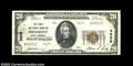 National Bank Notes:West Virginia, Piedmont, WV - $20 1929 Ty. 2 The First NB Ch. # 3629