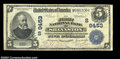 National Bank Notes:West Virginia, Shinnston, WV - $5 1902 Date Back Fr. 592The First NB ...