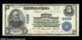 National Bank Notes:West Virginia, Terra Alta, WV - $5 1902 Plain Back Fr. 598 The First NB