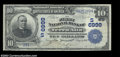 National Bank Notes:West Virginia, Terra Alta, WV - $10 1902 Date Back Fr. 616 The First NB