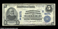 National Bank Notes:West Virginia, Welch, WV - $5 1902 Plain Back Fr. 600 McDowell County ...