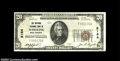 National Bank Notes:West Virginia, Wheeling, WV - $20 1929 Ty. 1 The National Exchange Bank
