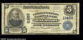 National Bank Notes:West Virginia, Williamstown, WV - $5 1902 Plain Back Fr. 606 The ...