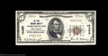 National Bank Notes:West Virginia, Worthington, WV - $5 1929 Ty. 1 First NB Ch. # 10450