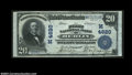 National Bank Notes:Wisconsin, Berlin, WI - $20 1902 Plain Back Fr. 654 The First NB ...