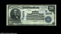 National Bank Notes:Wisconsin, Clintonville, WI - $20 1902 Plain Back Fr. 650 The First ...