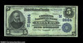 National Bank Notes:Wisconsin, Green Bay, WI - $5 1902 Date Back Fr. 592 The Citizens ...