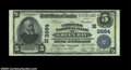 National Bank Notes:Wisconsin, Green Bay, WI - $5 1902 Plain Back Fr. 600 The Citizens ...