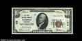 National Bank Notes:Wisconsin, Madison, WI - $10 1929 Ty. 1 The First NB Ch. # 144