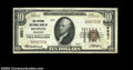 National Bank Notes:Wisconsin, Oconto, WI - $10 1929 Ty. 1 The Citizens NB Ch. # 5521