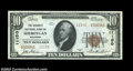 National Bank Notes:Wisconsin, Sheboygan, WI - $10 1929 Ty. 2 The Security NB Ch. # ...