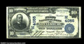 National Bank Notes:Wisconsin, Shullsburg, WI - $10 1902 Plain Back Fr. 626 The First ...