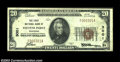 National Bank Notes:Wisconsin, Stevens Point, WI - $20 1929 Ty. 1 The First NB Ch. # ...
