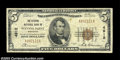 National Bank Notes:Wisconsin, Stevens Point, WI - $5 1929 Ty. 1 The Citizens NB Ch. #...