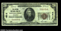 National Bank Notes:Wisconsin, Stevens Point, WI - $20 1929 Ty. 1 The Citizens NB Ch. ...