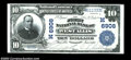 National Bank Notes:Wisconsin, West Allis, WI - $10 1902 Plain Back Fr. 624 The First ...