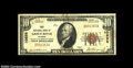 National Bank Notes:Wyoming, Green River, WY - $10 1929 Ty. 1 First NB Ch. # 10698