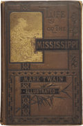 Books:First Editions, [Mark Twain] Life on the Mississippi. Boston: James R.Osgood and Company, 1883....