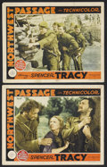 """Movie Posters:Western, Northwest Passage (MGM, 1940). Lobby Cards (2) (11"""" X 14""""). Adventure. Starring Spencer Tracy, Robert Young, Walter Brennan,... (Total: 2 Items)"""