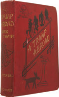 Books:First Editions, Mark Twain. A Tramp Abroad. London: Chatto & Windus,1880....