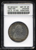 Early Half Dollars: , 1803 50C Large 3--Scratched--ANACS. XF Details, Net VF20. ...