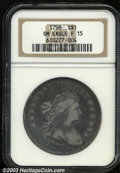 Early Dollars: , 1798 $1 Small Eagle, 13 Stars Fine 15 NGC. B-1, BB-82, R....
