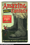 Silver Age (1956-1969):Mystery, Amazing Adult Fantasy #14 (Marvel, 1962) Condition: GD. Professor Xprototype. Steve Ditko cover and artwork. Overstreet 200...