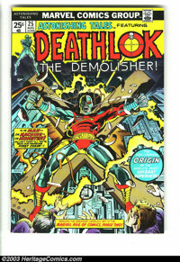 Astonishing Tales #25 (Marvel, 1974) Condition: VF+. First appearance of Deathlock. George Perez's first work. Overstree...