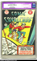Golden Age (1938-1955):Superhero, Comic Cavalcade #2 (DC, 1943) CGC Apparent FN+ 6.5 Slight (A) Cream to off-white pages. Overstreet 2002 FN 6.0 value = $708....