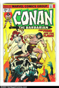 Bronze Age (1970-1979):Miscellaneous, Conan The Barbarian Group (Marvel, 1974-76) Condition: Average VF+.Lots of high-grade issues in this 19 book lot, which inc... (Total:19 Comic Books Item)