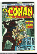 Bronze Age (1970-1979):Miscellaneous, Conan The Barbarian Group (Marvel, 1973-74) Condition: AverageFN/VF. This ten-issue lot includes #31-33, and 37-43. Neal Ad...(Total: 10 Comic Books Item)