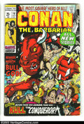 Bronze Age (1970-1979):Miscellaneous, Conan The Barbarian #10-20 Group (Marvel, 1971-72) Condition:Average FN-. Barry Smith cover and art. Overstreet 2003 value ...(Total: 11 Comic Books Item)