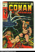 Bronze Age (1970-1979):Miscellaneous, Conan The Barbarian #4-6 Group (Marvel, 1971) Condition: AverageVG+. Barry Smith cover and art. Overstreet 2003 value for g...(Total: 3 Comic Books Item)