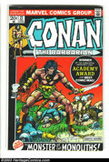 Bronze Age (1970-1979):Miscellaneous, Conan The Barbarian #21-31 Group (Marvel, 1972-73) Condition:Average VG+. Barry Smith art issues #21-24. First full Red Son...(Total: 11 Comic Books Item)