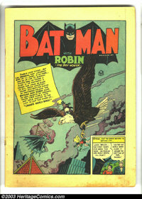 Detective Comics #67 (DC, 1942) Condition: Coverless. This issue had the first Penguin cover, but obviously the cover is...