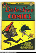 Golden Age (1938-1955):Superhero, Detective Comics #102 (DC, 1945) Condition: PR. This copy contains the front cover and the Batman story only....