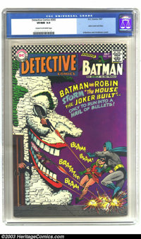 Detective Comics #365 (DC, 1967) CGC VF/NM 9.0 Cream to off-white pages. Carmine Infantino and Murphy Anderson Joker cov...