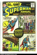 Bronze Age (1970-1979):Superhero, 80 Page Giant Group (DC, 1964-65). This lot consists of issues #1 (GD-, Superman); 4 (G/VG, Flash); 14 (GD, Lois Lane); and ... (Total: 4 Comic Books Item)