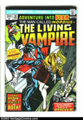 Bronze Age (1970-1979):Horror, Fear Group (Marvel, 1974) Condition: Average NM-. Morbius, theLiving Vampire is showcased in this run of Fear #20, 21, ...(Total: 3 Comic Books Item)