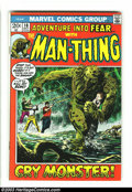 Bronze Age (1970-1979):Horror, Fear Group (Marvel, 1972-1973) Condition: Average VF+. Issue #10features the first of the Man-Thing run and #19 features th...(Total: 2 Comic Books Item)