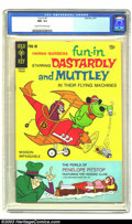 Bronze Age (1970-1979):Cartoon Character, Fun-In #1 Dastardly and Muttley (Gold Key, 1970) CGC NM- 9.2 Creamto off-white pages. Dastardly and Muttley in their Flying...