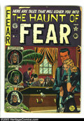 Golden Age (1938-1955):Horror, The Haunt of Fear #6 (EC, 1951) Condition: GD 2.0. The Crypt Keeperby Al Feldstein begins. Overstreet 2003 GD 2.0 value = $...