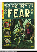 Golden Age (1938-1955):Horror, The Haunt of Fear #23 (EC, 1954) Condition: VG-. This issue wasused in The Seduction of the Innocent. Overstreet 2003 V...