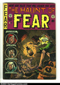 Golden Age (1938-1955):Horror, The Haunt of Fear #24 (EC, 1954) Condition: VG. Jack Davis and JackKamen artwork. This issue was used in the Senate Investi...
