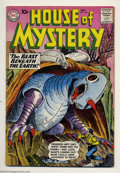 Silver Age (1956-1969):Mystery, House of Mystery Group (DC, 1960) Condition: Average VG+. This lotcontains issues #100, 103, and 104. Overstreet 2003 value...(Total: 3 Comic Books Item)