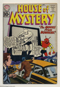 Silver Age (1956-1969):Mystery, House of Mystery #114-116 Group (DC, 1961). Condition: Average VG+This lot contains issues #114-116. Overstreet 2003 value ...(Total: 3 Comic Books Item)